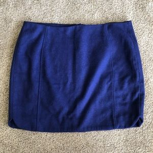 NEW Banana Republic blue/purple skirt size 8